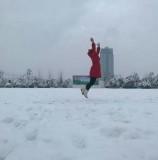 走进雪景中的桃州新阳教育集团