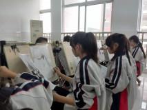 高二学生画画照片2014.10拍